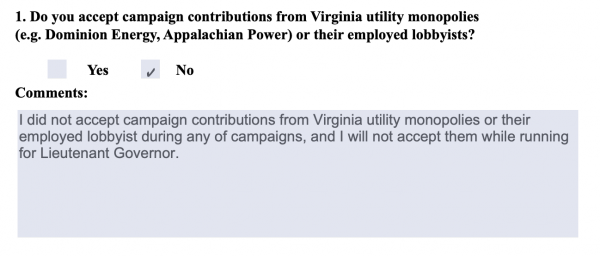BREAKING: Del. Hala Ayala Accepts $100K Donation From Dominion Energy, Betraying Public Commitment